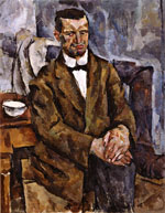 Portrait of the Sculptor P. Bromirsky. 1919
